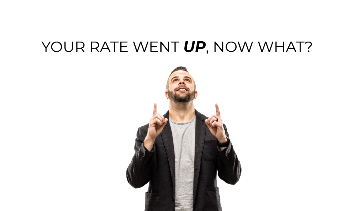 rate went up image